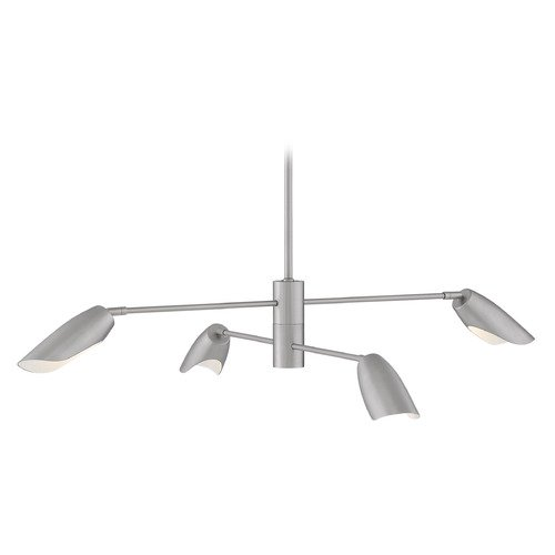 Hinkley Hinkley Bowery Brushed Nickel LED Chandelier 2700K 1400LM FR35804BNI