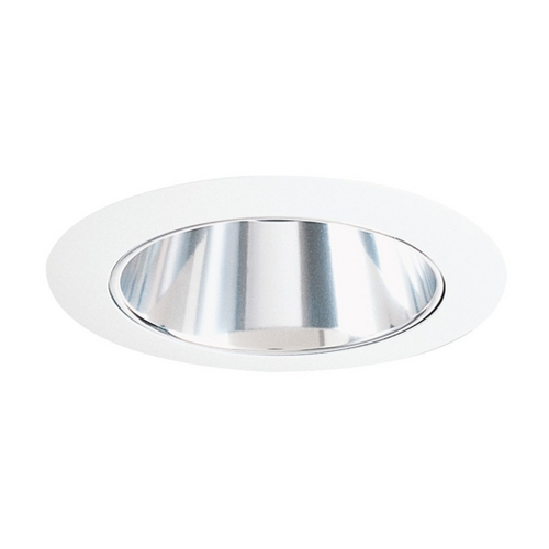 Juno Lighting Group Haze Alzak Cone for 4-Inch Recessed Housing 17 HZWH