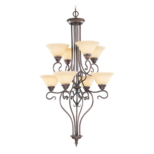 Livex Lighting Livex Lighting Coronado Imperial Bronze Chandelier 6118-58