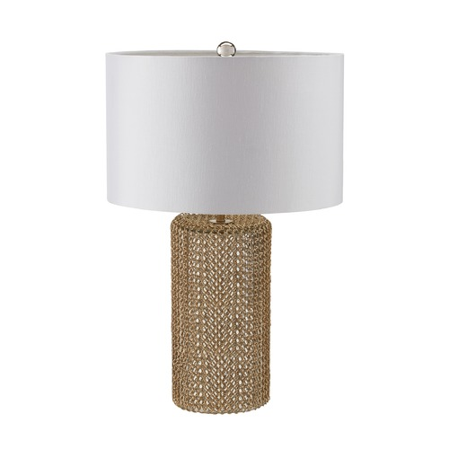 Dimond Lighting Dimond Lighting Gold Table Lamp with Drum Shade 983-008