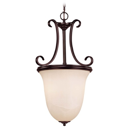 Savoy House Savoy House English Bronze Pendant Light with Bowl / Dome Shade 7-5786-2-13