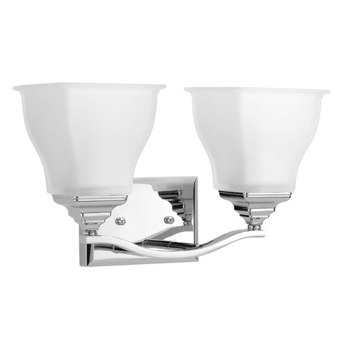 Progress Lighting Progress Lighting Callison Polished Chrome Bathroom Light P2176-15