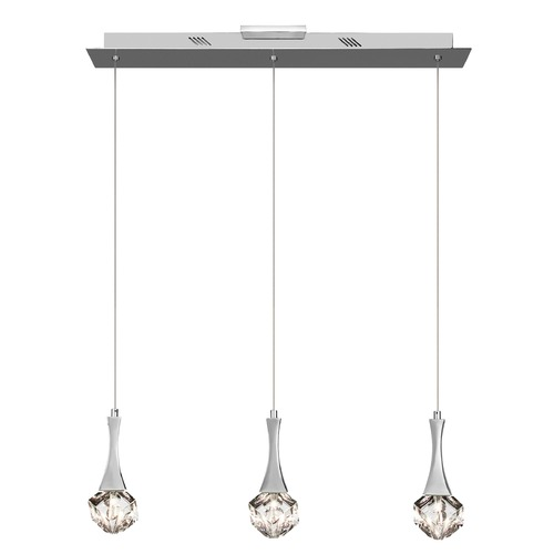 Elan Lighting Elan Lighting Rockne Chrome Island Light 83131