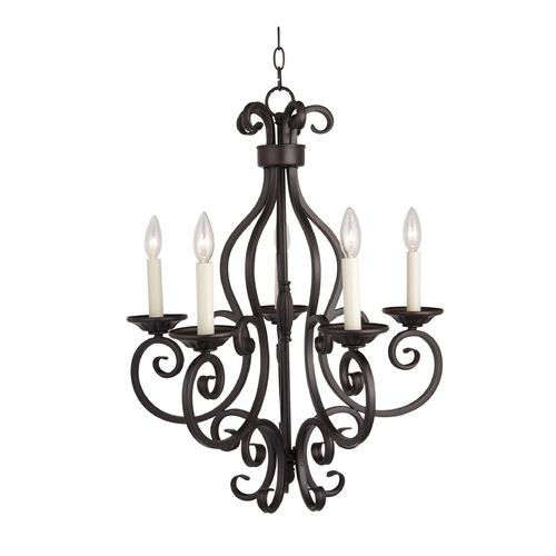 Maxim Lighting Chandelier in Oil Rubbed Bronze Finish 12215OI