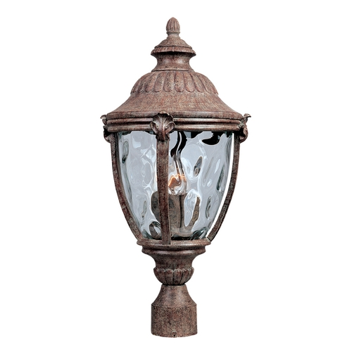 Maxim Lighting Post Light with Clear Glass in Earth Tone Finish 3181WGET