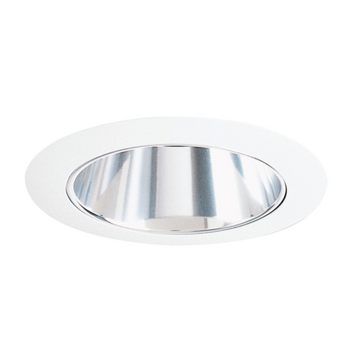 Juno Lighting Group White Alzak Cone for 4-Inch Recessed Housing 17 WWH