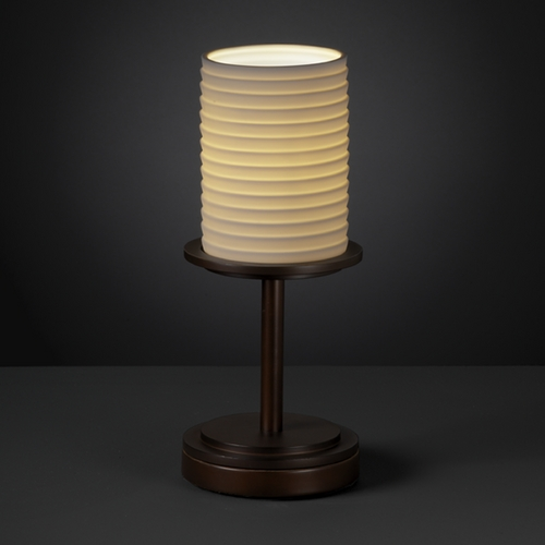 Justice Design Group Justice Design Group Limoges Collection Table Lamp POR-8798-10-SAWT-DBRZ