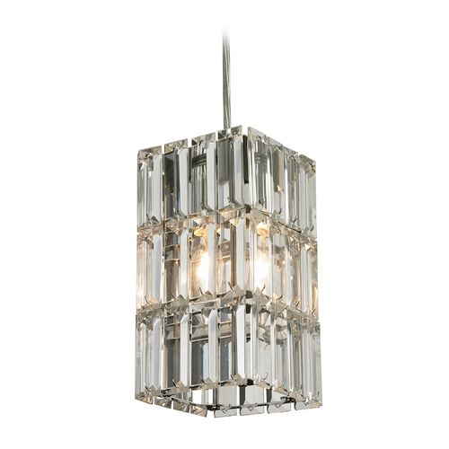 Elk Lighting Crystal Mini-Pendant Light 31488/1