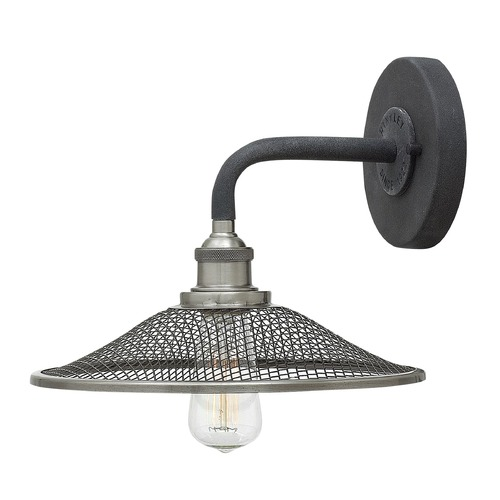 Hinkley Lighting Hinkley Lighting Rigby Aged Zinc Sconce 4360DZ