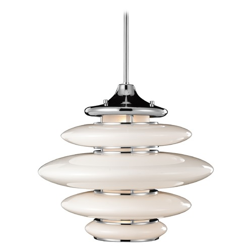 Elan Lighting Elan Lighting Cumulus Chrome Pendant Light 83221