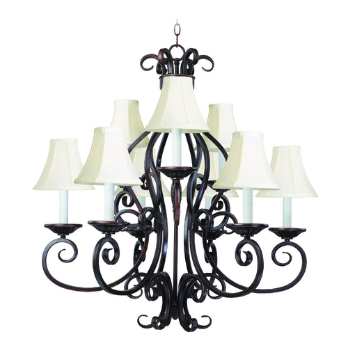 Maxim Lighting Maxim Lighting Manor Oil Rubbed Bronze Chandelier 12216OI