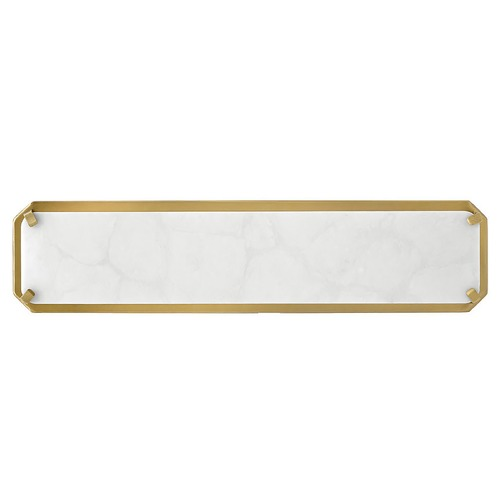 Hinkley Hinkley Serene 19.5-Inch Heritage Brass LED Bathroom Light 3000K 1800LM 57232HB