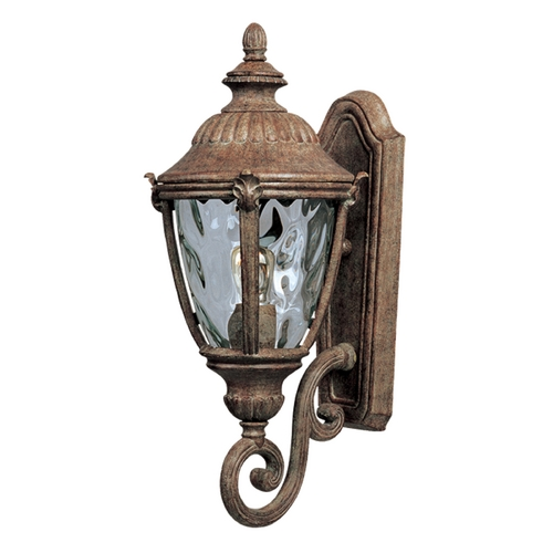 Maxim Lighting Outdoor Wall Light with Clear Glass in Earth Tone Finish 3184WGET