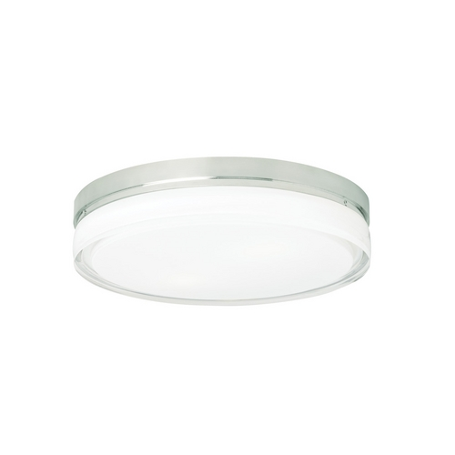Tech Lighting 11-Inch Round Flushmount Ceiling Light 700CQLC