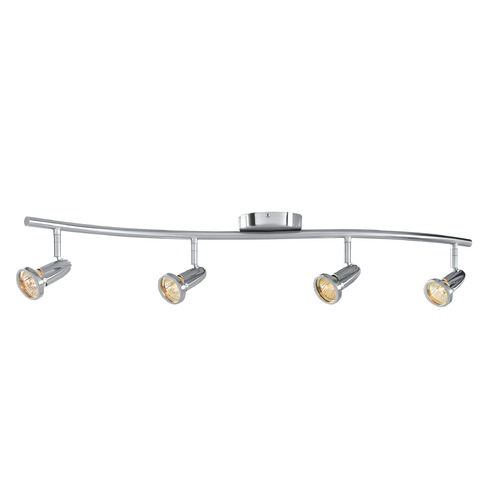 Access Lighting Access Lighting Cobra Brushed Steel Directional Spot Light 52204-BS