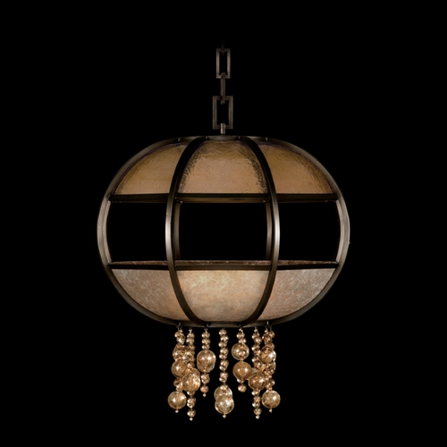Fine Art Lamps Fine Art Lamps Singapore Moderne Brown Patinated Bronze Pendant Light 600240ST