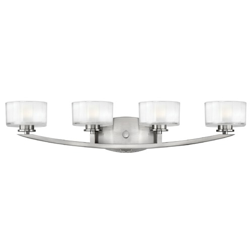 Hinkley Lighting Hinkley Lighting Meridian Brushed Nickel LED Bathroom Light 5594BN-LED