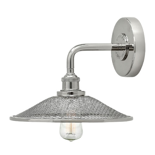 Hinkley Lighting Hinkley Lighting Rigby Polished Nickel Sconce 4360PN