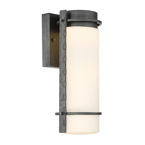 Designers Fountain Lighting Designers Fountain Aldridge Weathered Iron LED Outdoor Wall Light LED34311-WI