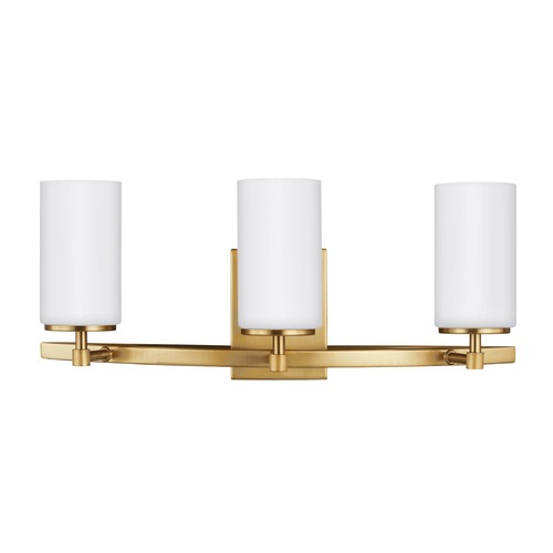 Sea Gull Lighting Sea Gull Lighting Alturas Satin Bronze Bathroom Light 4424603-848