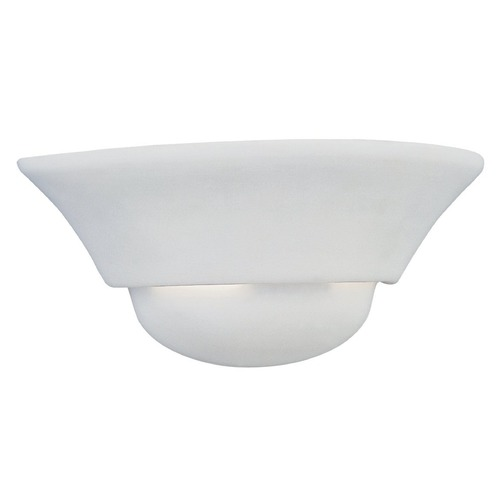 Designers Fountain Lighting Ceramic Sconce 6031-WH