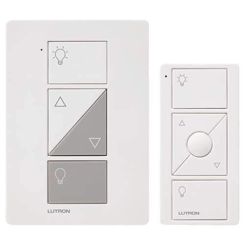 Lutron Dimmer Controls Lutron White Dimmer Switch P-PKG1W-WH