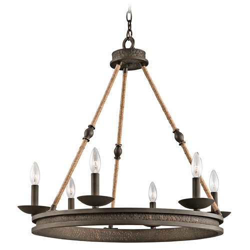 Kichler Lighting Kichler Lighting Kearn Olde Bronze Chandelier 43423OZ