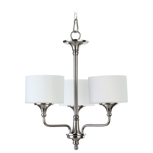 Quorum Lighting Quorum Lighting Rockwood Satin Nickel Chandelier 6090-3-65