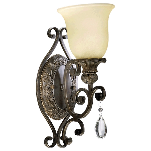 Quorum Lighting Quorum Lighting Fulton Classic Bronze Sconce 5432-1-54
