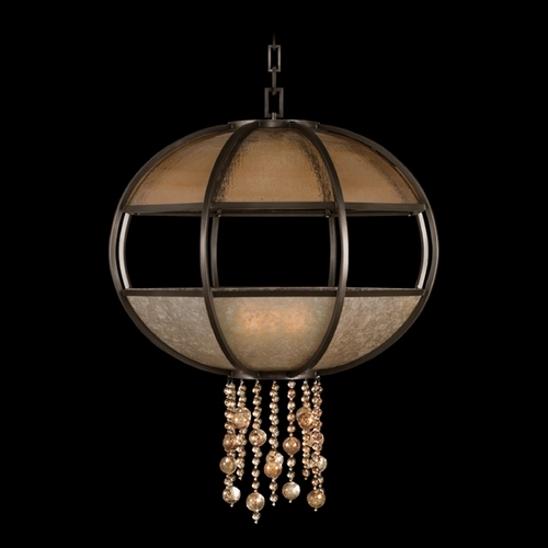 Fine Art Lamps Fine Art Lamps Singapore Moderne Brown Patinated Bronze Pendant Light 600340ST