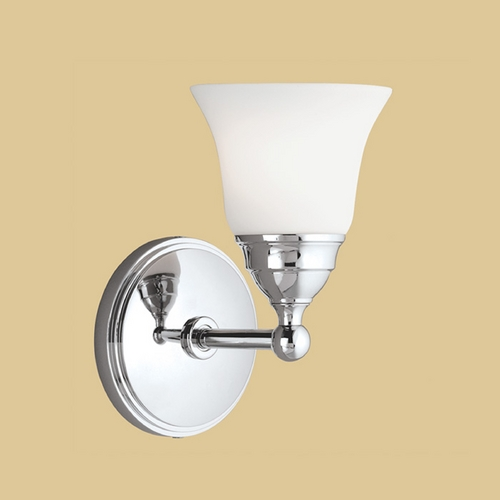 Norwell Lighting Norwell Lighting Sophie Chrome Sconce 8581-CH-BSO