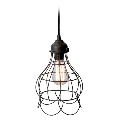 Dimond Lighting Wire Rose Pendant Light 225033