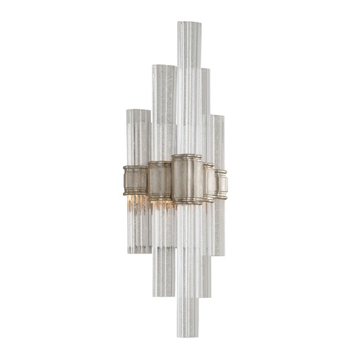 Corbett Lighting Corbett Lighting Voila Modern Silver Leaf LED Sconce 236-11