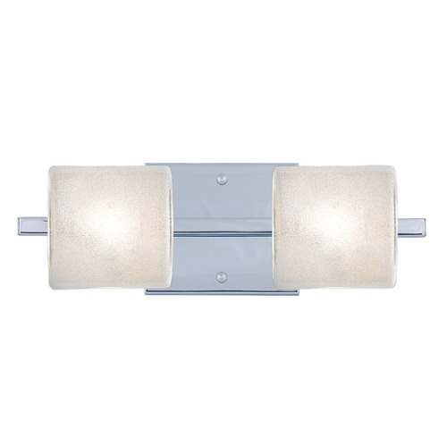 Besa Lighting Besa Lighting Paolo Chrome Bathroom Light 2WS-7873GL-CR