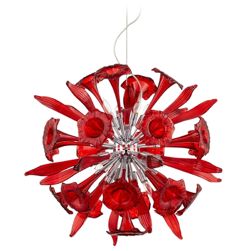 Cyan Design Cyan Design Remy Red Pendant Light 06595