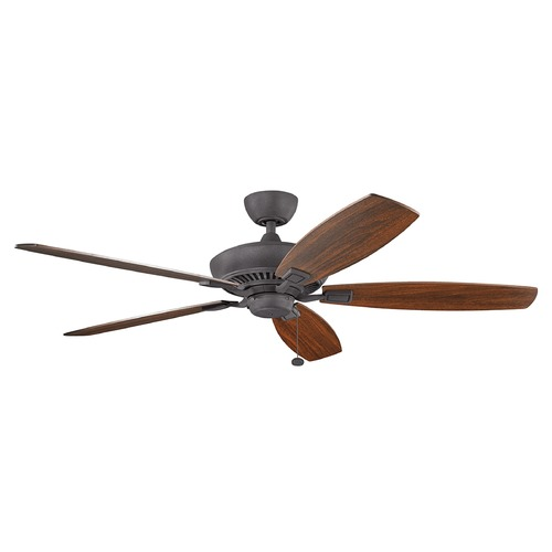 Kichler Lighting Kichler Lighting Canfield Ceiling Fan Without Light 300188DBK