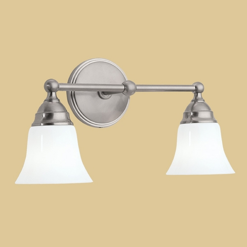 Norwell Lighting Norwell Lighting Sophie Brush Nickel Bathroom Light 8582-BN-BSO