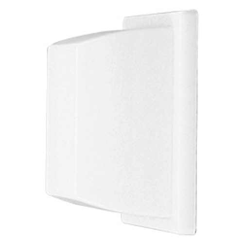 Lithonia Lighting Prismatic Glass Outdoor Wall Light White Lithonia Lighting VR2