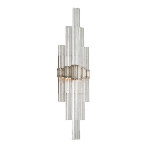 Corbett Lighting Corbett Lighting Voila Modern Silver Leaf LED Sconce 236-12