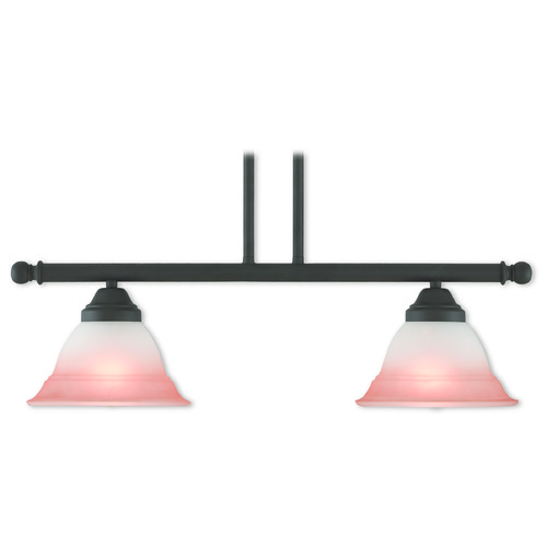 Livex Lighting Livex Lighting Wynnewood Bronze Island Light with Bell Shade 40722-07