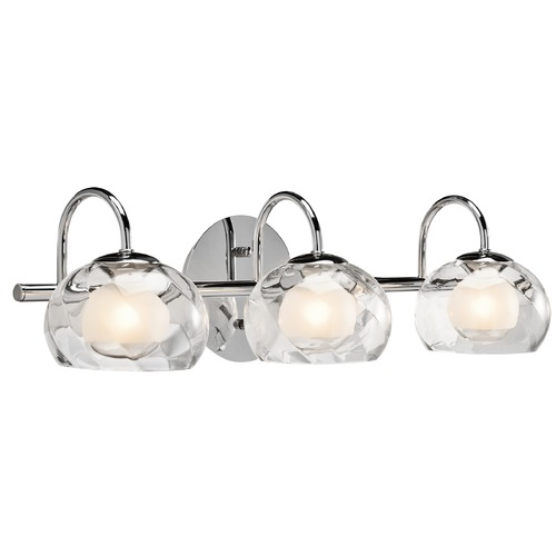 Elan Lighting Elan Lighting Niu Chrome Bathroom Light 83076