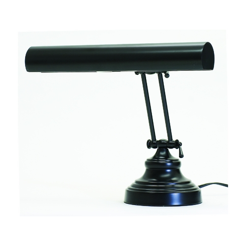 House of Troy Lighting Piano / Banker Lamp in Black Finish AP14-41-7