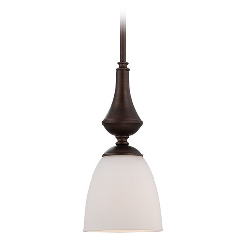 Nuvo Lighting Mini-Pendant Light with White Glass 60/5137