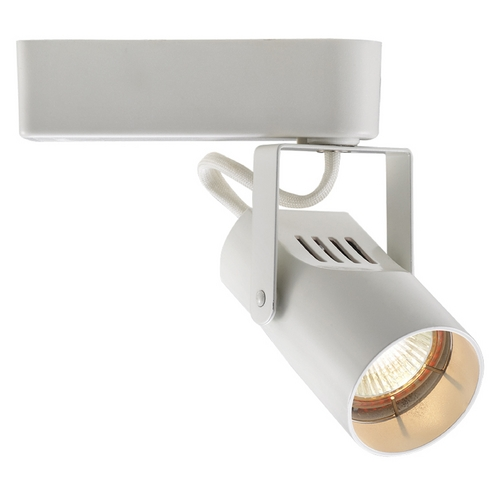 WAC Lighting WAC Lighting White Low Voltage Track Light For L-Track LHT-007L-WT