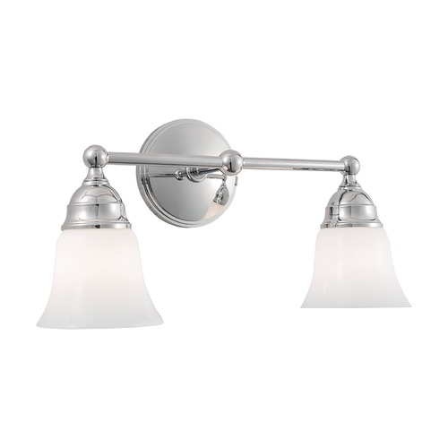 Norwell Lighting Norwell Lighting Sophie Chrome Bathroom Light 8582-CH-BSO