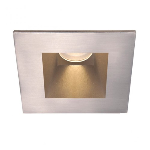 WAC Lighting WAC Lighting Square Brushed Nickel 3.5-Inch LED Recessed Trim 4000K 1295LM 30 Degree HR3LEDT818PN840BN