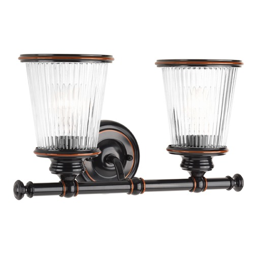 Progress Lighting Progress Lighting Radiance Rubbed Bronze Bathroom Light P2170-139