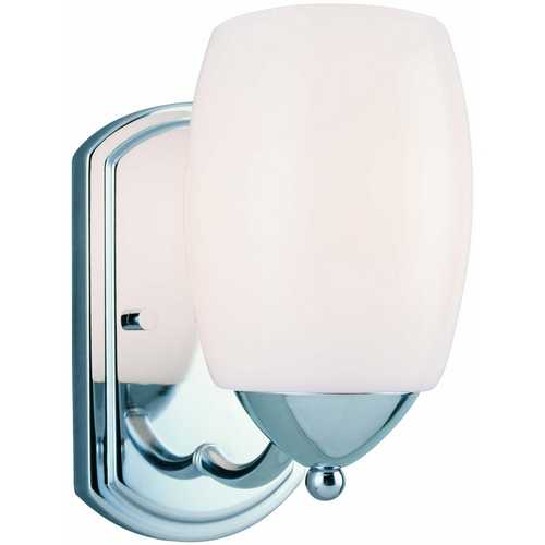 Lite Source Lighting Lite Source Lighting Karston Chrome Sconce LS-16441C/FRO