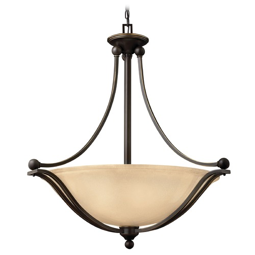 Hinkley Lighting Hinkley Lighting Bolla Olde Bronze Pendant Light with Bowl / Dome Shade 4664OB-GU24