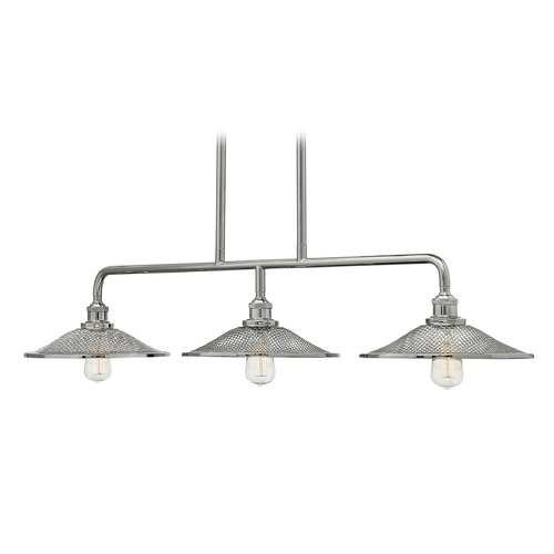 Hinkley Lighting Hinkley Lighting Rigby Polished Nickel Chandelier 4364PN
